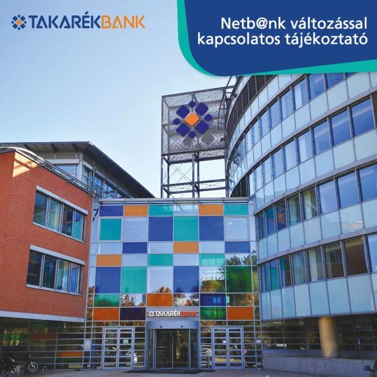 Netbank tájékoztatás