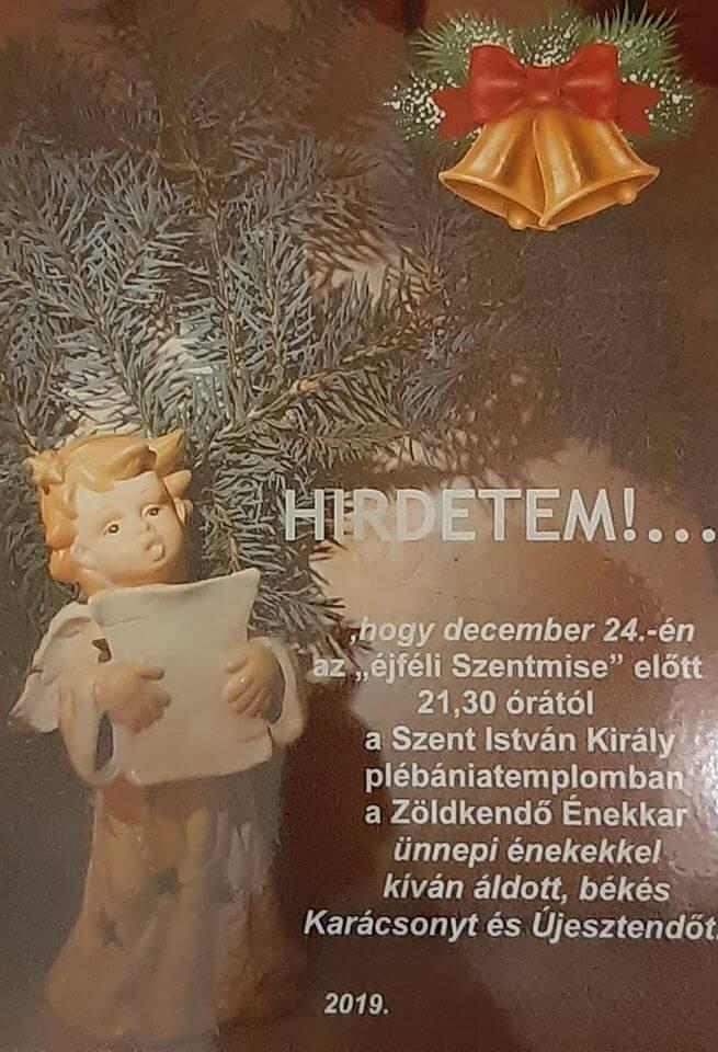 December 24. Zöldkendő Énekkar