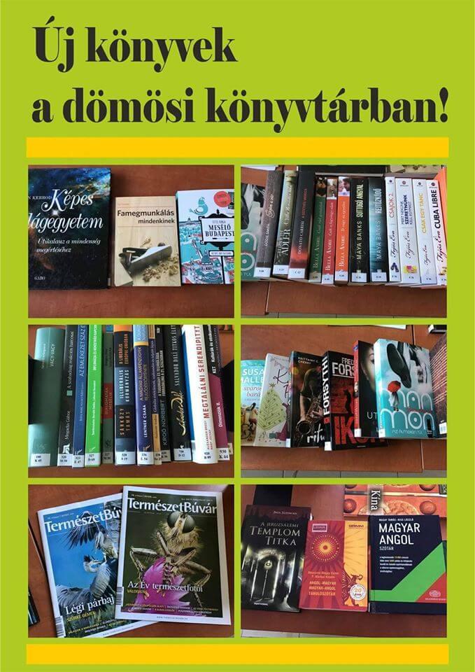 Dömös könyvtár