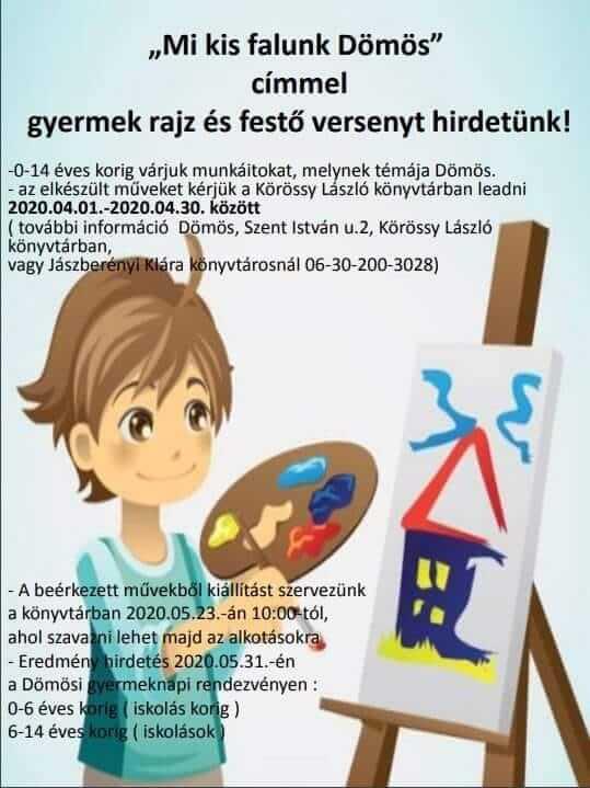 Gyermek rajz és festő verseny