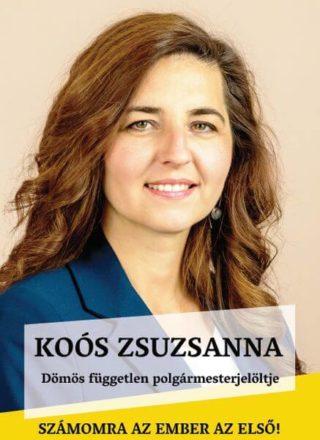 Koós Zsuzsanna polgármester-jelölt